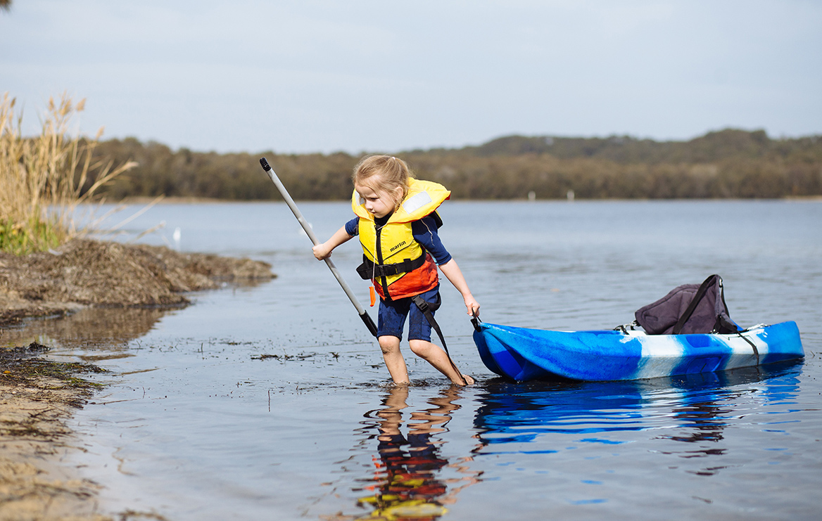 Experience the serene waters of Tuggerah Lake