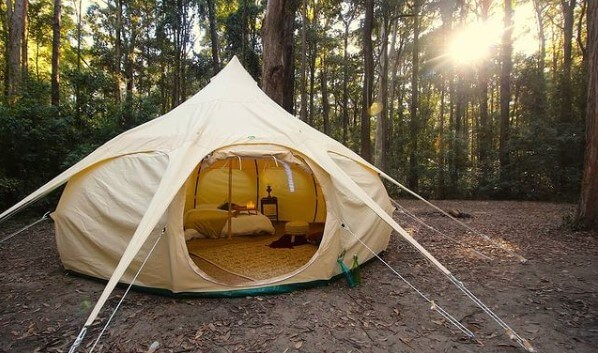 gillyweed the tent glamping