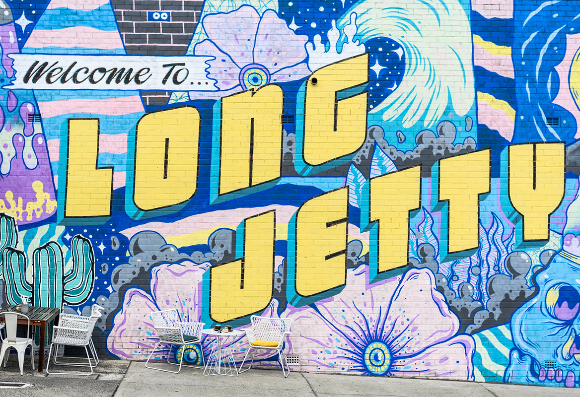 10 Instagram worthy spots on the Central Coast - Welcome to Long Jetty mural