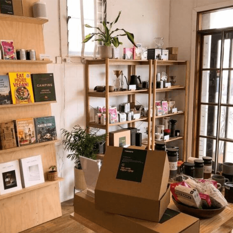 cafe book store at ettalong